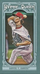 2013 Topps Gypsy Queen Mini Variations Yu Darvish 162x300 Image