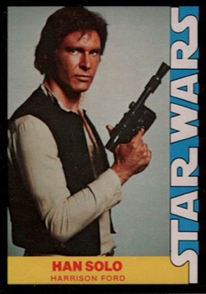 1977 Wonder Bread Star Wars 4 Han Solo Image