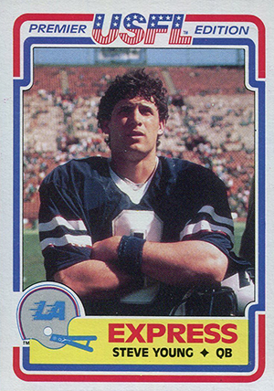 1984 Topps USFL Steve Young