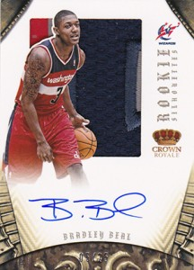 2012 13 Panini Preferred Rookie Silhouettes Prime Bradley Beal 216x300 Image