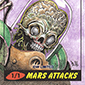 2013 IDW Limited Mars Attacks Sketch Cards