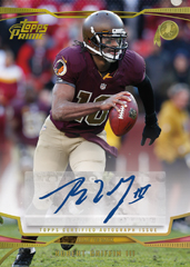 2013 Topps Prime Football Robert Griffin III Autograph Image