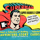 1940 Gum Inc. Superman Trading Cards