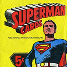 1966 Topps Superman Trading Cards