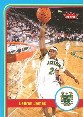 2012 13 Fleer Retro Base LeBron James Image