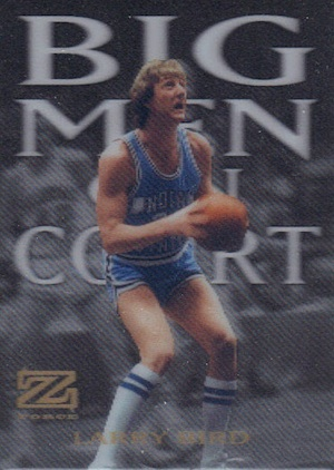 2012 13 Fleer Retro Big Men on Court Larry Bird Image