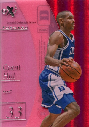 2012 13 Fleer Retro Essential Credentials Future Grant Hill Image