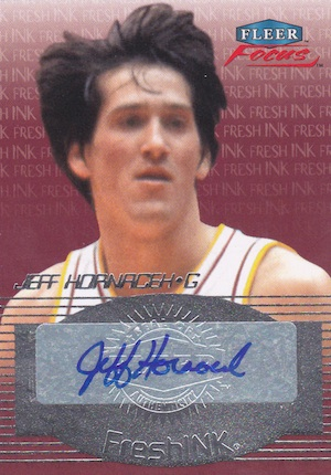 2012 13 Fleer Retro Fresh Ink Fleer Focus Autograph Jeff Hornacek Image