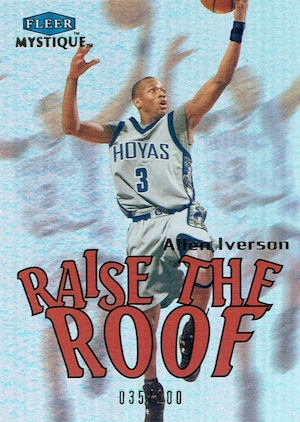 2012 13 Fleer Retro Raise the Roof Allen Iverson Image