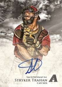2013 Bowman Inception Prospect Autographs Stryker Trahan 215x300 Image