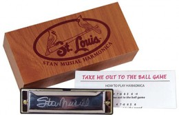2013 St Louis Cardinals Stan Musial Harmonica 260x167 Image