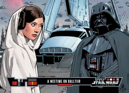 2013 Topps Star Wars Illustrated A Meeting on Ralltiir 260x188 Image