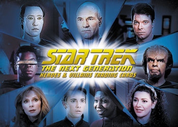 Star Trek TNG Heroes and Villains CT1 Image
