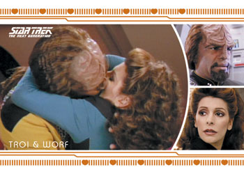 Star Trek TNG Heroes and Villains Romance Image
