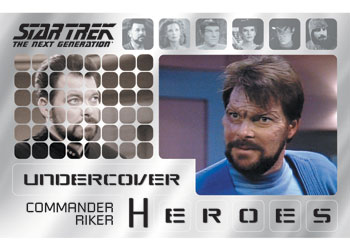 Star Trek TNG Heroes and Villains Undercover Heroes Image