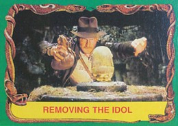 1981 Topps Raiders of the Lost Ark Base Card