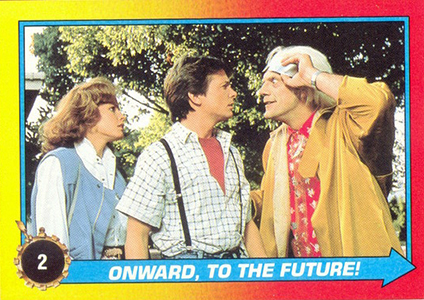 1989 Topps Back to the Future II Base Cards Image
