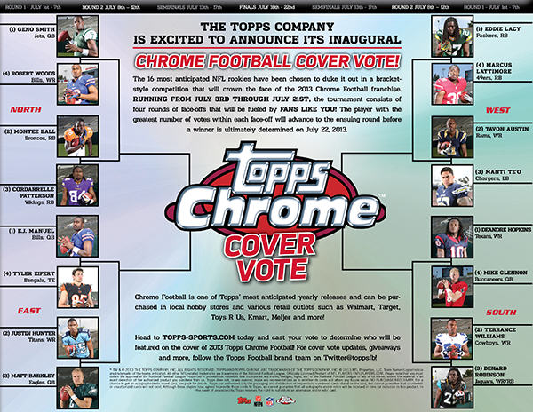 2013 Topps Chrome Cover Vote Image