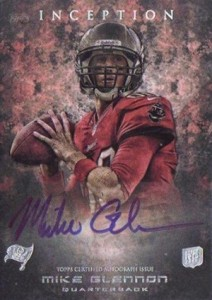 2013 Topps Inception Football Rookie Autographs 103 Mike Glennon 212x300 Image