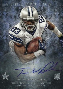 2013 Topps Inception Football Rookie Autographs 113 Terrance Williams 212x300 Image