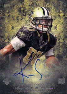 2013 Topps Inception Football Rookie Autographs 131 Kenny Stills 215x300 Image