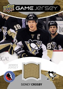 2013 Upper Deck Hockey Hall of Fame Game Jersey Sidney Crosby 214x300 Image