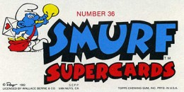 1982 Topps Smurfs Supercards 36 Back 260x130 Image