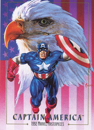 1992 SkyBox Marvel Masterpieces Promo Card Image