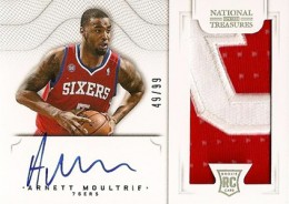 2012 13 Panini National Treasures Rookie Autographed Memorabilia 177 Arnett Moultrie 260x184 Image