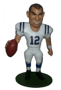 2013 McFarlane Small Pros Series 1 Andrew Luck Variant