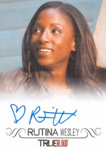 2013 Rittenhouse True Blood Archives Autographs Rutina Wesley 213x300 Image