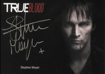 2013 Rittenhouse True Blood Archives Stephen Moyer Silver Image