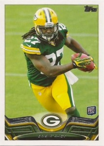 2013 Topps Football Base RC Eddie Lacy 214x300 Image
