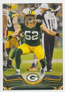2013 Topps Football Clay Matthews1 212x300 Image