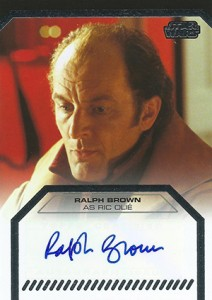 2013 Topps Star Wars Galactic Files 2 Autographs Ralph Brown