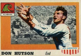 1955 Topps All-American Don Hutson RC