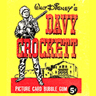 1956 Topps Davy Crockett Orange Back Trading Cards
