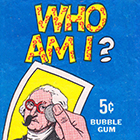 1967 Topps Who Am I? Trading Cards