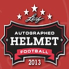 2013 Leaf Autographed Helmet Football