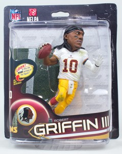 2013 McFarlane NFL 32 Robert Griffin III Game Face Variant 239x300 Image