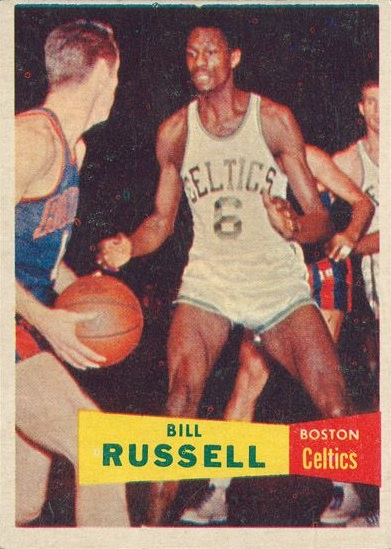 1957-58 Topps Bill Russell RC #177