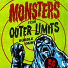1964 Topps Monsters from Outer Limits Trading Cards