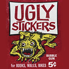 1965 Topps Ugly Stickers Trading Cards