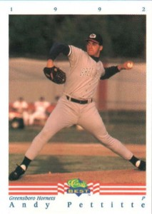 1992 Classic Best Andy Pettitte