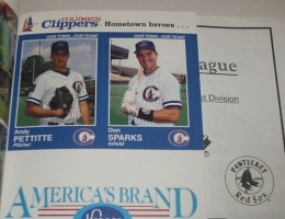 1995 Andy Pettitte Yearbook