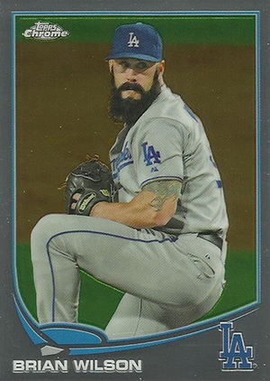2013 Topps Chrome Update MB 34 Brian Wilson Image