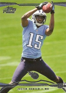 2013 Topps Prime Rookie Hobby Justin Hunter 212x300 Image
