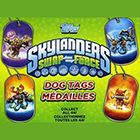 2013 Topps Skylanders Swap Force Dog Tags