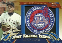2013 Topps Update Series Baseball All Star Game MVP Patches ASMVP 1 Willie Mays 260x183 Image