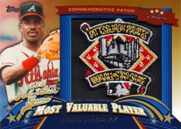 2013 Topps Update Series Baseball All Star Game MVP Patches ASMVP 12 Fred McGriff 260x185 Image